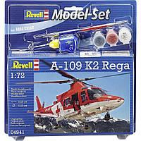 Сборная модель Revell Вертолет A-109 K2 Rega 1:72 (64941)