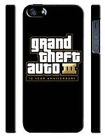 Чехол для iPhone 5/5s Grand theft auto III