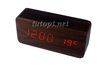 Часы-Будильник VST-862 с температурой и подсветкой  USB/4R3/AAA