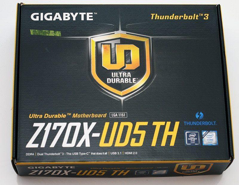"Материнская плата GIGABYTE GA-Z170X-UD5 TH s.1151 DDR4 ""Over-Stock"""