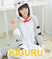 Косплей. Пижама кигуруми кошка L (170-180cm)