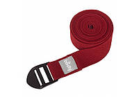 Ремень для йоги Asana 2,5 м Красный