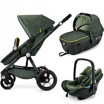 Коляска 3 в 1 Concord Wanderer Travel Set Jungle Green зеленая