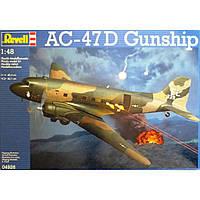 Сборная модель Revell Тяжелый ударный самолет AC-47D Gunship 1:48 (4926)