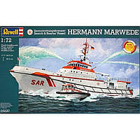 Сборная модель Revell Корабль Search & Rescue Vessel HERMANN MARWEDE 1:72 (5220)