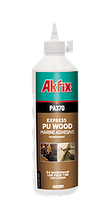 Водостойкий полиуретановый клей для дерева  Akfix PA370 500гр