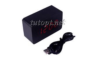 Часы-Будильник VST-863 с температурой и подсветкой  USB/4R3/AAA