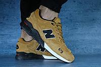 Мужские кроссовки NewBalance 878 Рыжие 10576 р. 43 44