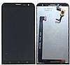 Дисплей (экран) для Asus ZenFone 2 Laser (ZE601KL) + тачскрин, черный