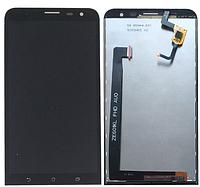 Дисплей (экран) для Asus ZenFone 2 Laser (ZE601KL) + тачскрин, черный , фото 1
