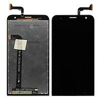 Дисплей (экран) для Asus ZenFone 2 Laser (ZE551KL) + тачскрин, черный