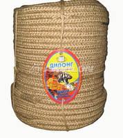 Канат джутовий плетеный 18 мм, 100 м
