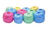 Шпагат полипропилен шарик цветной