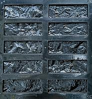 """Форма для декоративного каменю та плитки """"Колота цегла"""" (в комплекті - 30 форм)"""