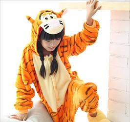 Пижама кигуруми для детей Тигр