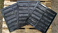 """Форма для декоративного каменю та плитки """"Римська цегла"""", АБС-пластик, 36 форм в комплекті"""