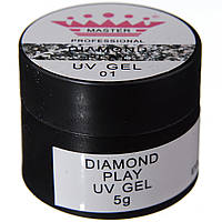 Гель для дизайна DIAMOND PLAY 5 гр (MP-4010) (номер 01)