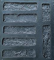 """Форма для декоративного каменю та плитки """"Стара цегла"""", в комплекті - 19.5 форм"""
