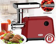 Мясорубка электрическая с насадкой для томатов    ROTEX RMG-201-T