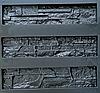 """Форма для декоративного каменю та плитки """"Аляска"""", АБС-пластик, 9 форм в комплекті"""