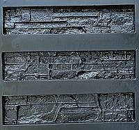 """Форма для декоративного каменю та плитки """"Аляска"""", АБС-пластик, 9 форм в комплекті, фото 1"""