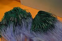 Сеть рыболовная,трехстенка, высота3м, длина 100м, ячея 35мм (боевая, плетеный порежь, леска)