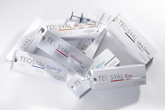 Дермальные филлеры гиалуроновой кислоты Теосиаль (Teosyal)