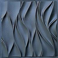"""Пластикова форма для 3d панелей """"Вітер"""" 50 * 50 (форма для 3д панелей з абс пластика), фото 1"""