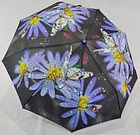 """Женский зонт полуавтомат цветок на 9 спиц от фирмы """"MaX"""""""