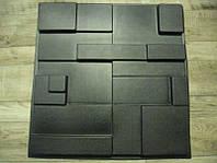"""Пластикова форма для 3d панелей """"Подіум"""" 50 * 50 (форма для 3д панелей з абс пластика), фото 1"""