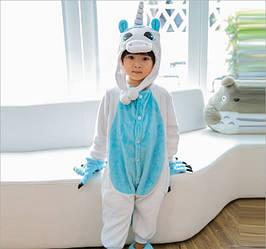 Пижама кигуруми для детей Единорог