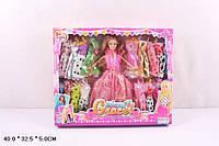 Кукла 30см 8011D с нарядами