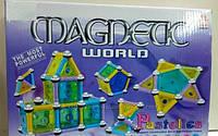 Магнитный 3D конструктор AQ-186 на 110 деталей ++++