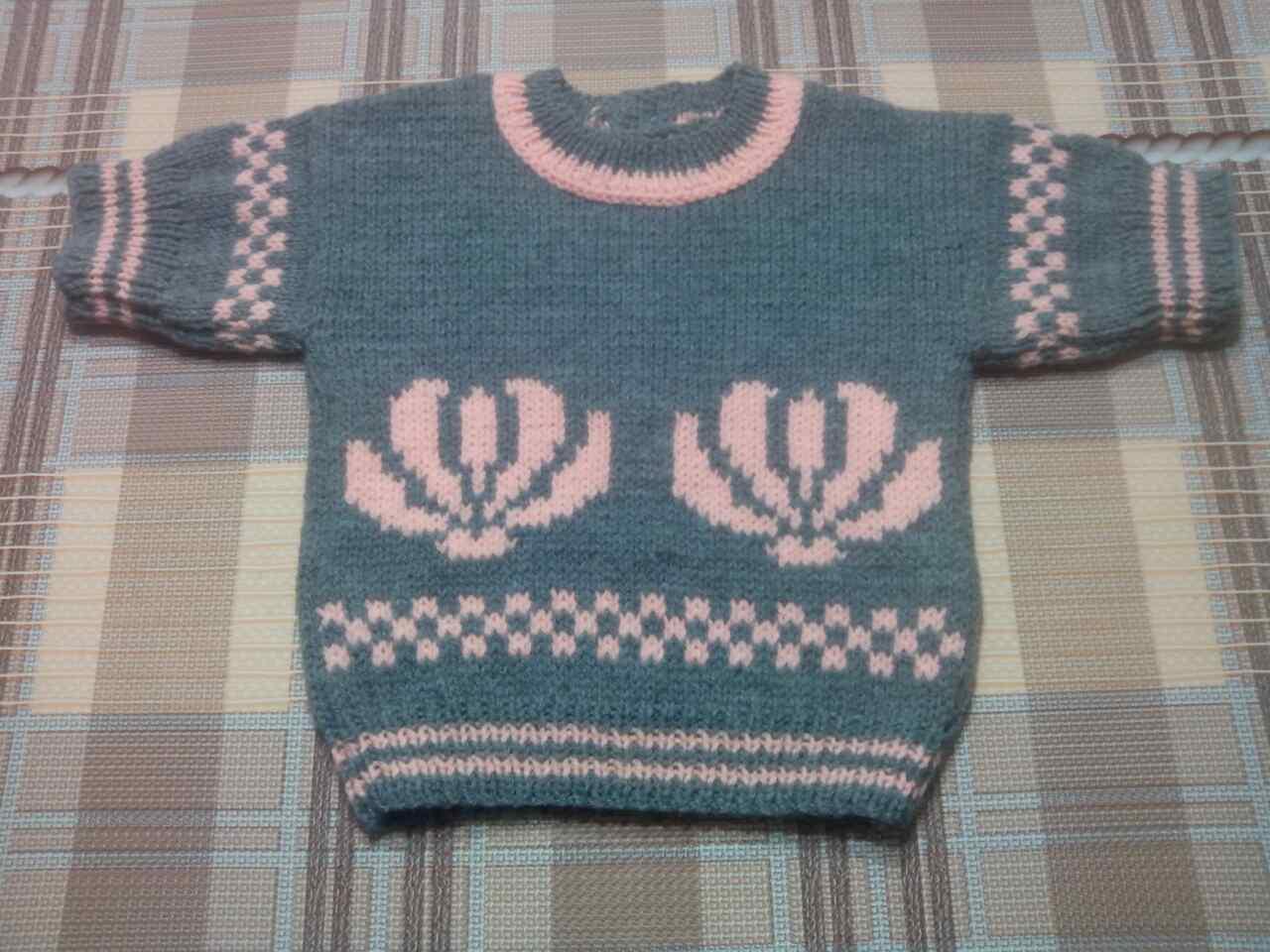 abd3499e3ad Детский вязаный свитер