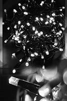 Гирлянда уличная новогодняя светодиодная Нить 10м 100LED