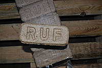 Топливные брикеты РУФ (RUF)  50% Дуб на 50 % хвойные породы