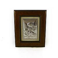 Икона Ангелочки в деревянной рамке
