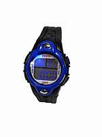 Часы электронные в пластиковой подарочной коробке 2 . синий
