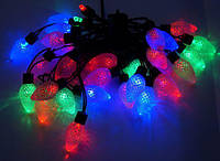 """Новогодняя светодиодная гирлянда """"Шишки"""" 20 светодиодов"""