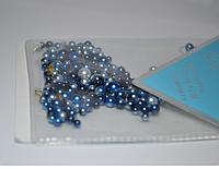 Жемчуг с синим переливом, 100шт