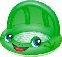 Детский надувной бассейн «Лягушка» Bestway 52189, зеленый