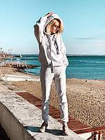 Женский утепленный флисовый спортивный костюм