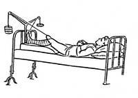 Аппарат для скелетного вытяжения