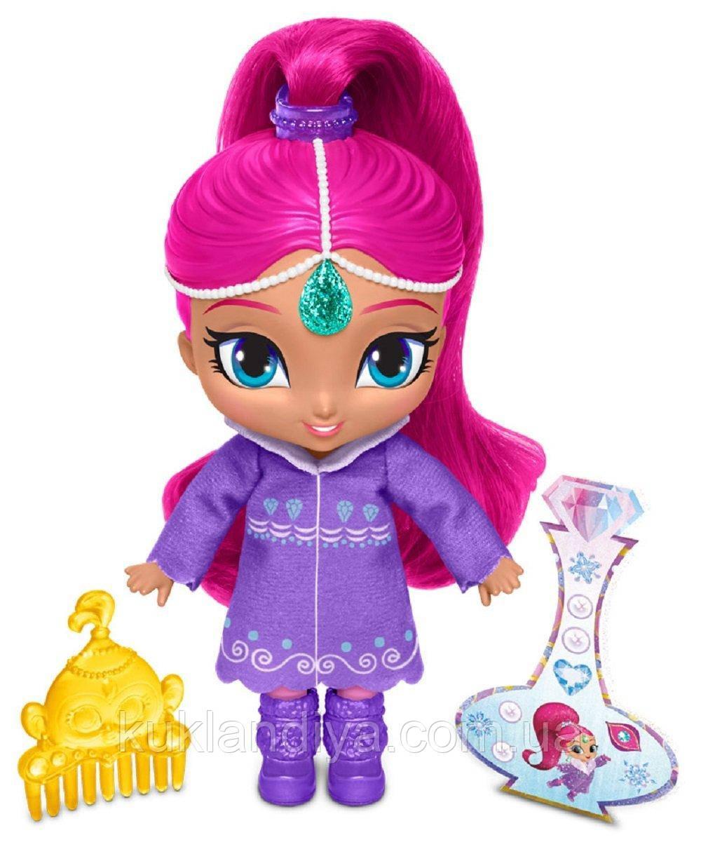 Кукла Шиммер в шубке - Shimmer and Shine Fisher-Price 15 см