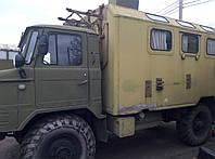 Автомобиль ГАЗ-66, кунг (охота-рыбалка)