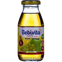 Сок фруктовый детский BEBIVITA Бебивита Яблоко и виноград 200 мл