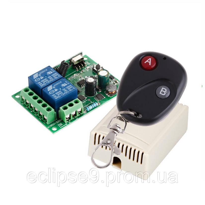 6e415c76c741 Двухканальный универсальный дистанционный выключатель на 220 Вольт тип 2 -  дистанционные и автоматические выключатели «Эклипс