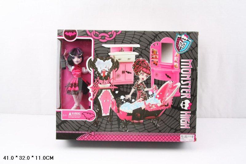 Кукла Monster High 66534 с мебелью