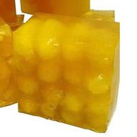 Мыло натуральное ручной работы с медом и шелковыми коконами 50 г