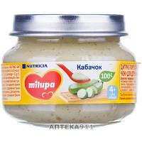 Пюре овощное детское Нутриция Milupa (Милупа) Кабачок с 4-х месяцев 80 г